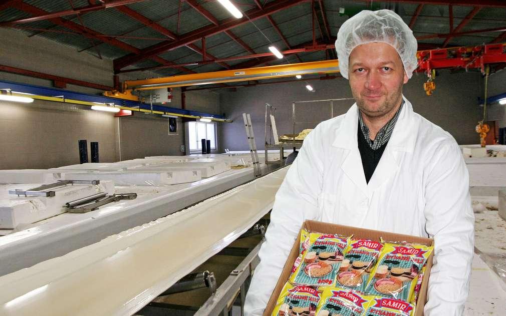 Výrobou zelí nás provedl pan Petr Matušík