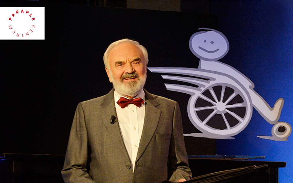 Zakladatel Centra Paraple Zdeněk Svěrák
