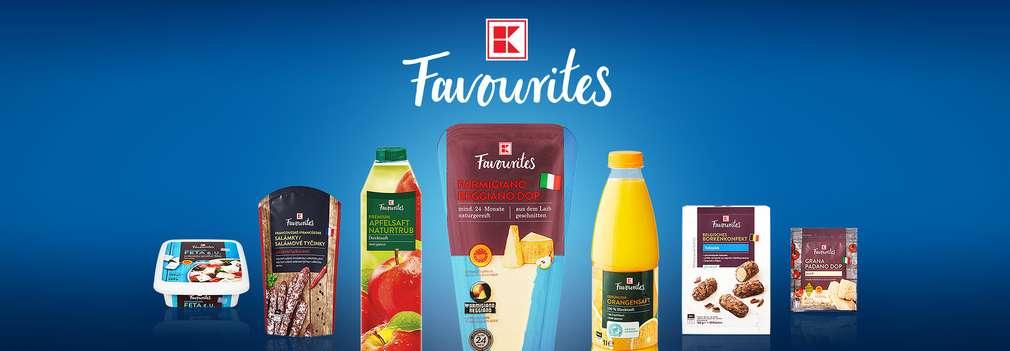 Privátní značka K-Favourites®