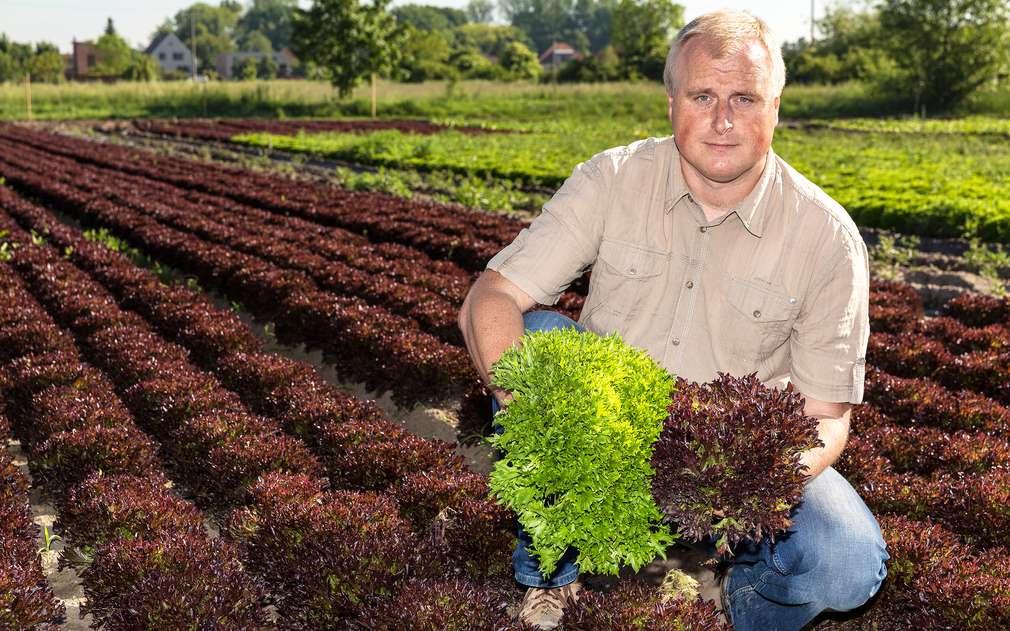 Pan Miliš Špitálský nám ukázal rozmanité druhy salátů
