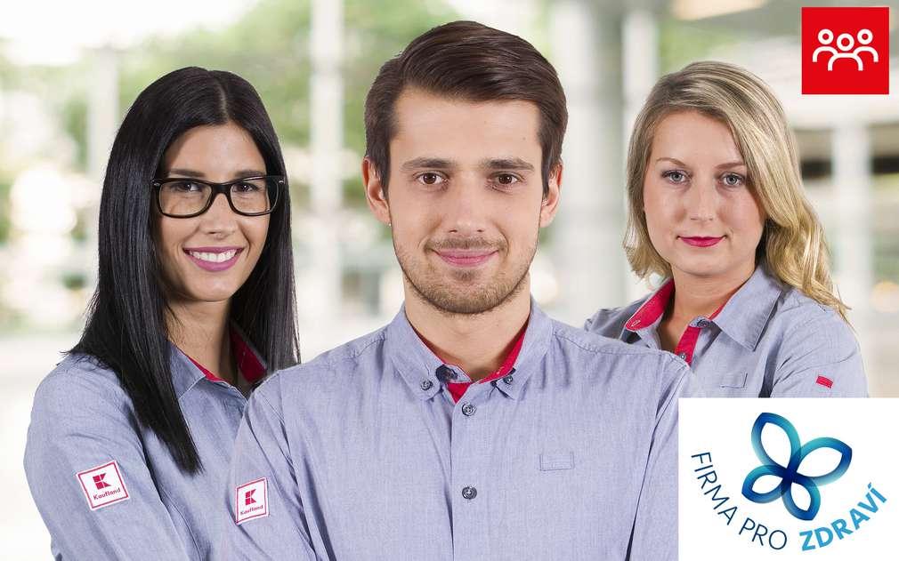 Kaufland se může pyšnit oceněním Firma pro zdraví