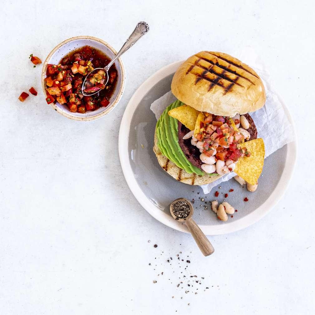 Zobrazit Beyond mexický burger receptů