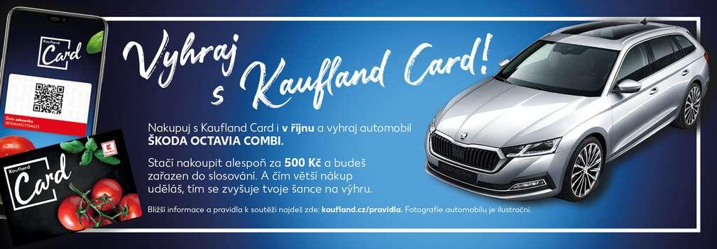 Mobil, Kaufland Card a automobil Škoda Octavia