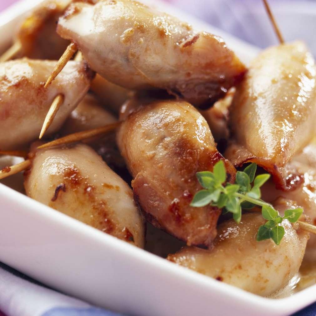 Zobrazit Grilovaná sépie s chilli a česnekem receptů