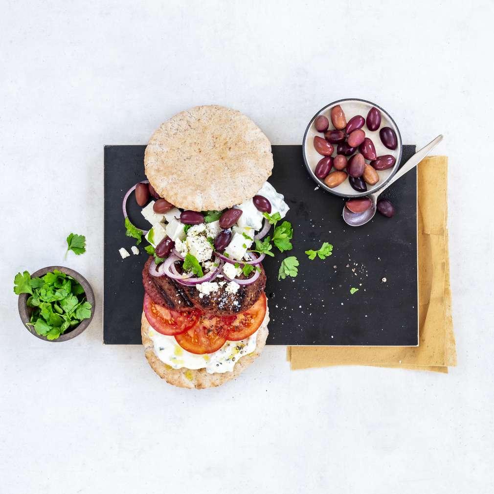 Zobrazit Beyond řecký burger receptů