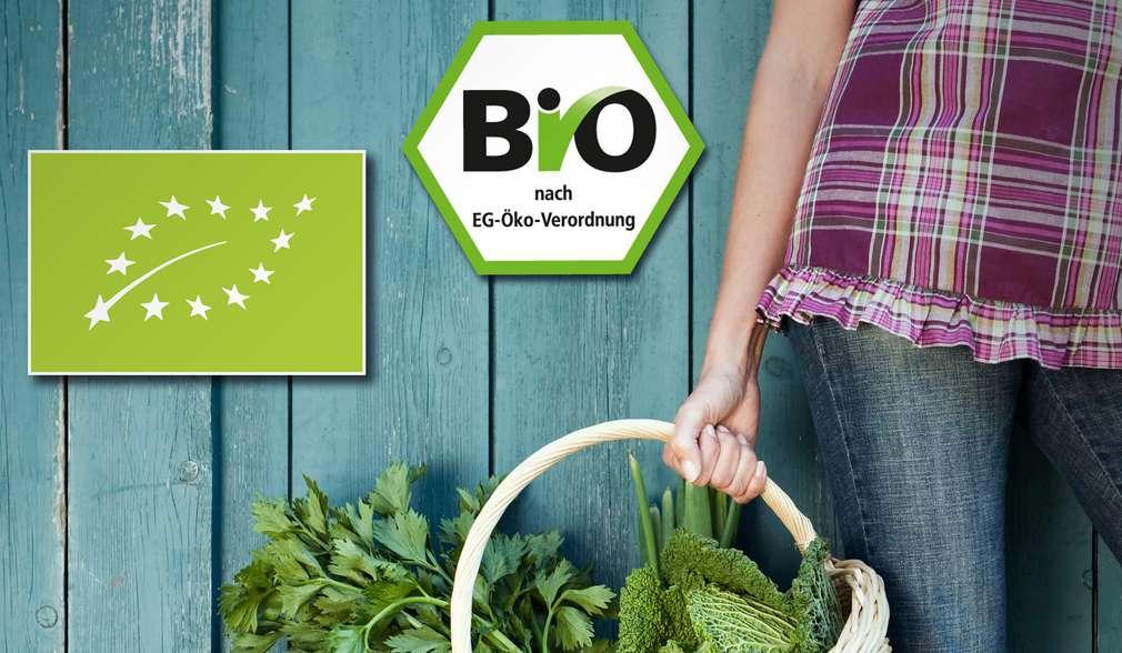 Pečeť kvality na všech bio produktech potvrzuje ekologickou výrobu