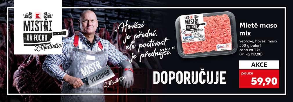 Mistr Vladimír doporučuje: Mleté maso mix