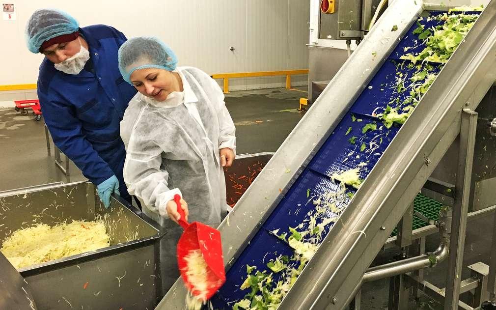 Osobně jsme zkontrolovali kvalitu salátových balíčků