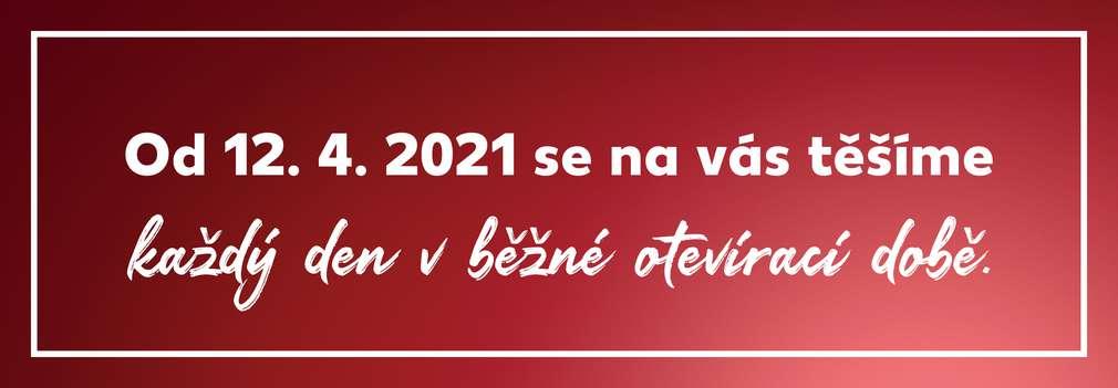 Od 12. 4. 2021 platí v prodejnách Kaufland běžná otevírací doba.
