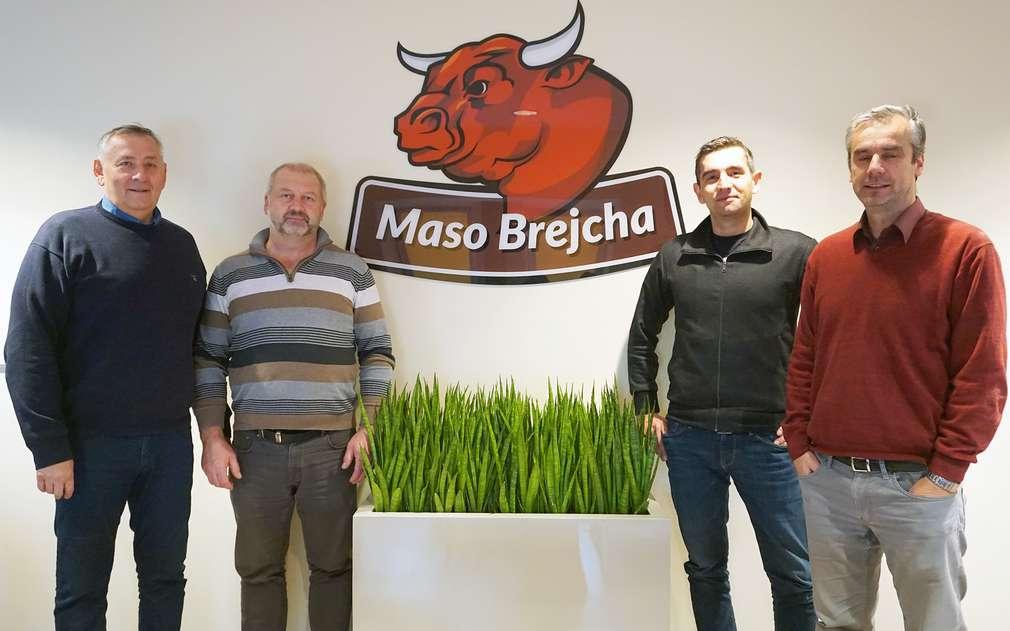 Přivítali nás pánové z Maso Brejcha