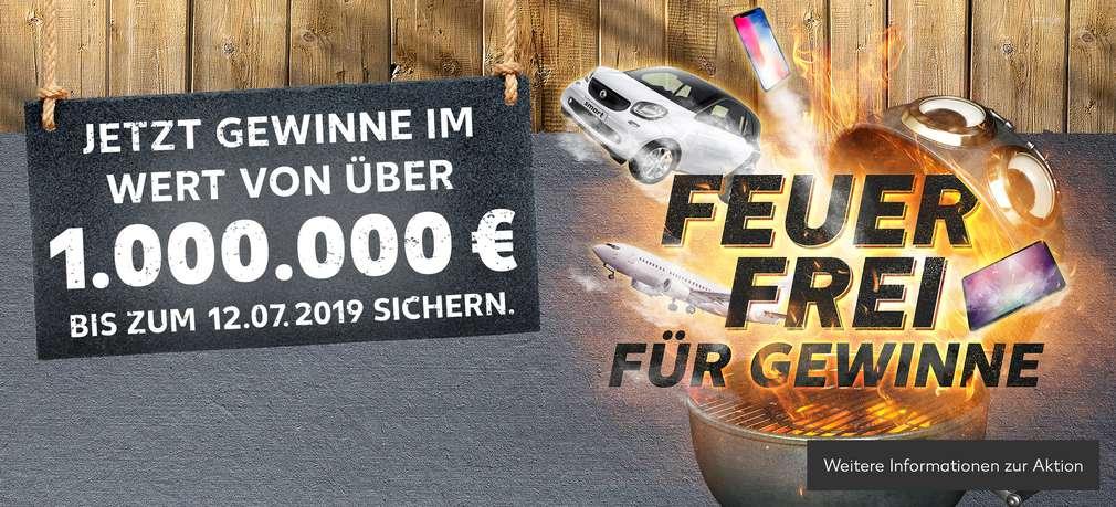 """Gewinnspiel """"FEUER FREI FÜR GEWINNE"""""""