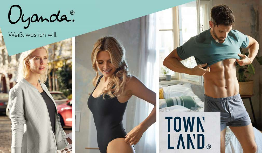 Eigenmarken: Oyanda und Townland
