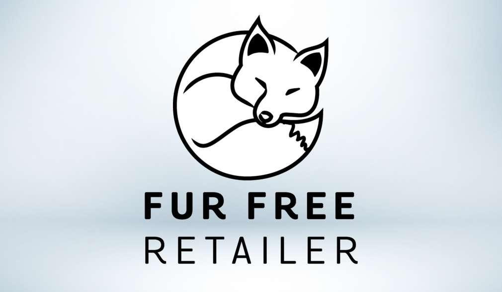 """Logo """"Fur Free Retailer"""""""