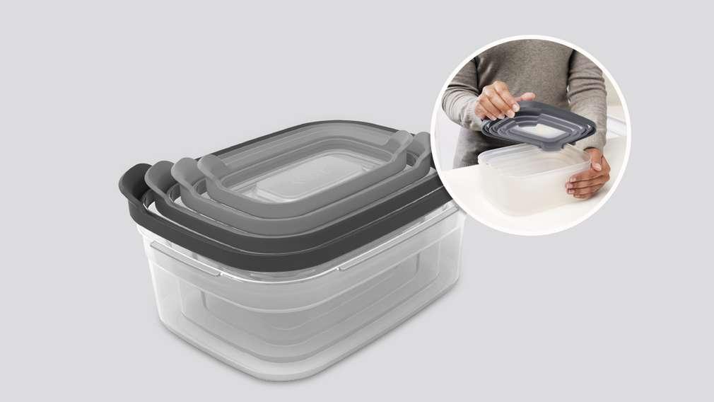 Kompaktes Behälter-Set, 8-teilig
