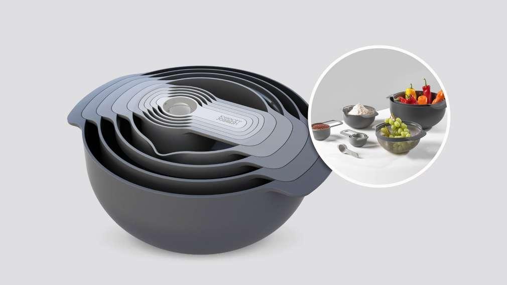 Kompaktes Küchen-Set, 9-teilig