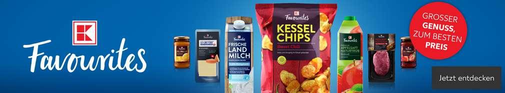 Produkt- und Logoabbildung: K-Favourites