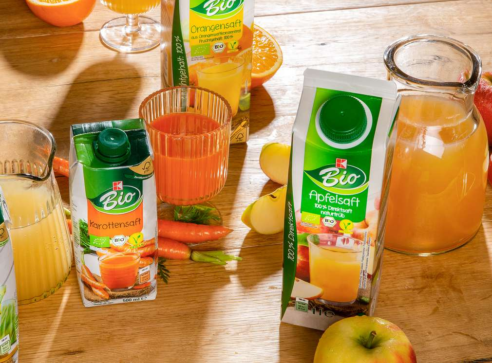 Produktabbildung: K-Bio Orangensaft