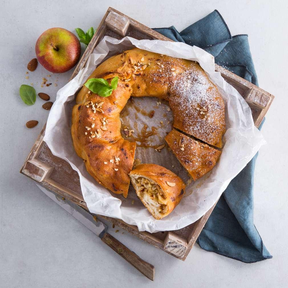 Abbildung des Rezepts Apfelkuchen vom Grill