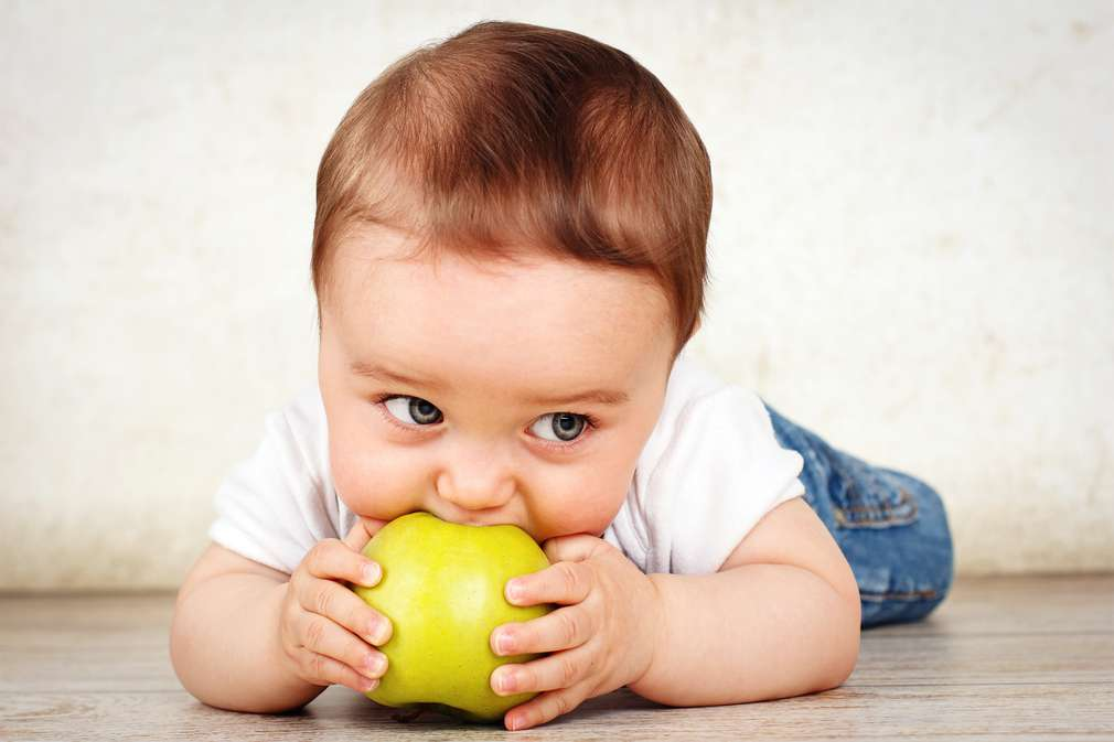 Selbst isst das Kleinkind: Die trendige Baby-Ernährung Baby-led Weaning