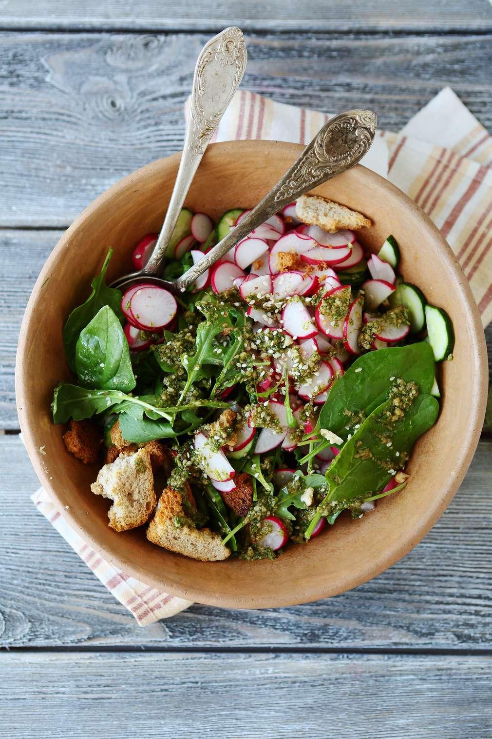 Gesund und lecker: So geht Salat