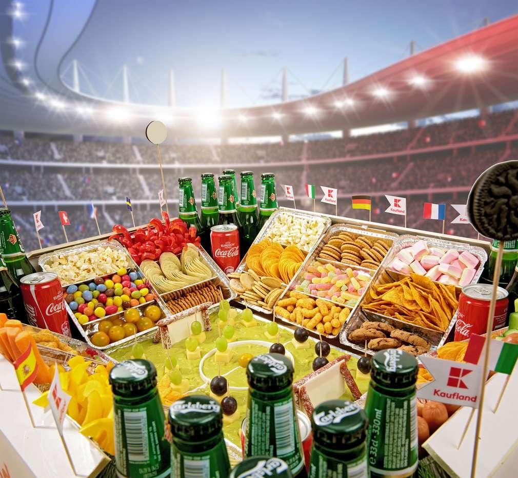 Das ultimative Snackstadion für die Fußball-Party | Kaufland