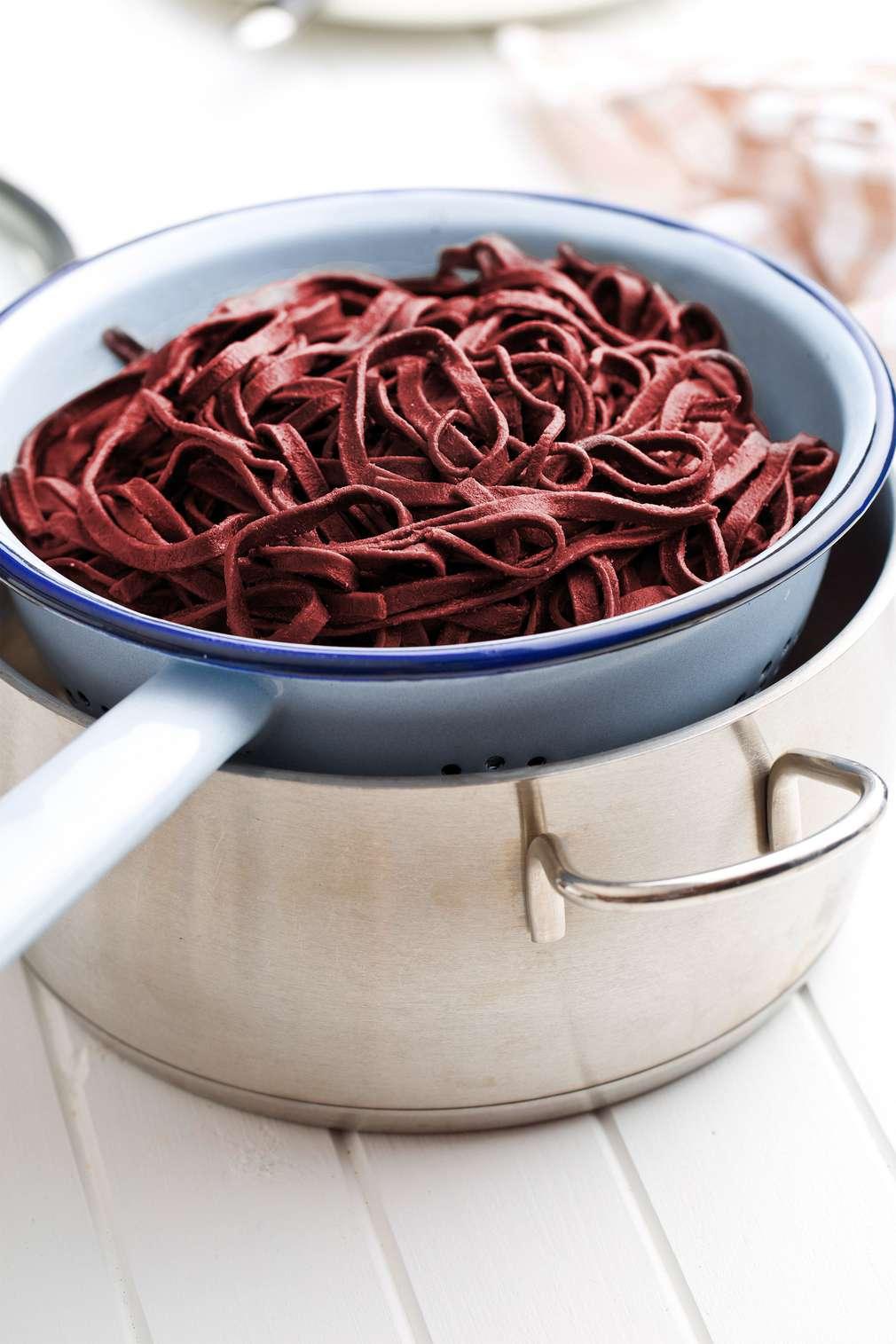 Drunken Pasta – Spaghetti mit Schwips