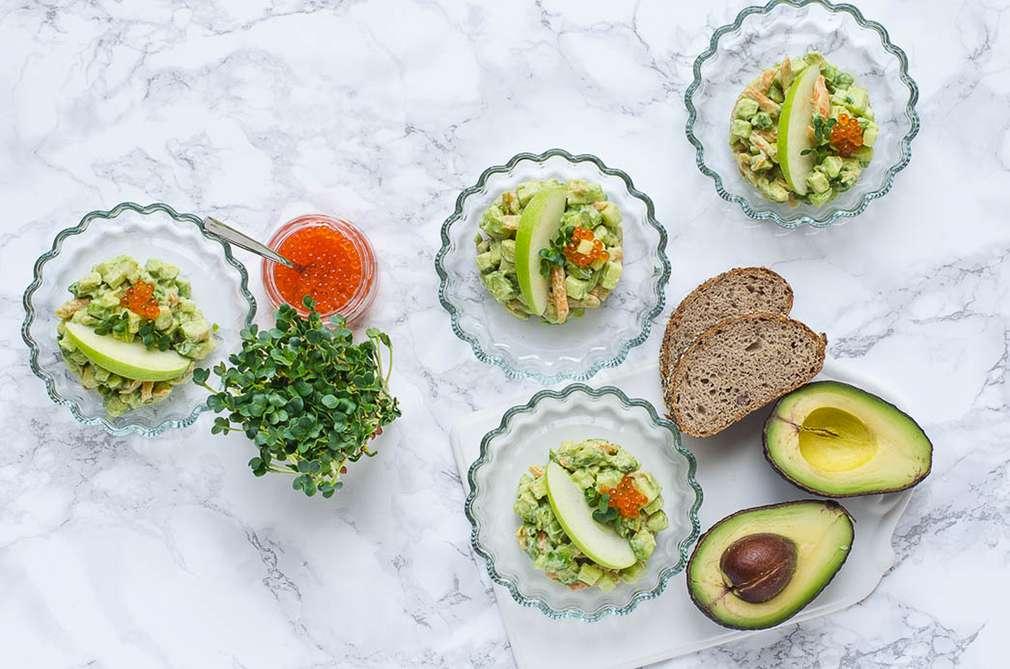 Zu Tisch mit den Foodistas: Ganz schön erfrischend – Avocado als Tatar