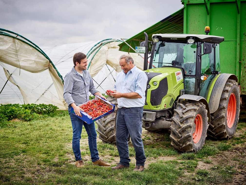 Erzeuger-Reportage: Zu Besuch beim Erdbeerbauern