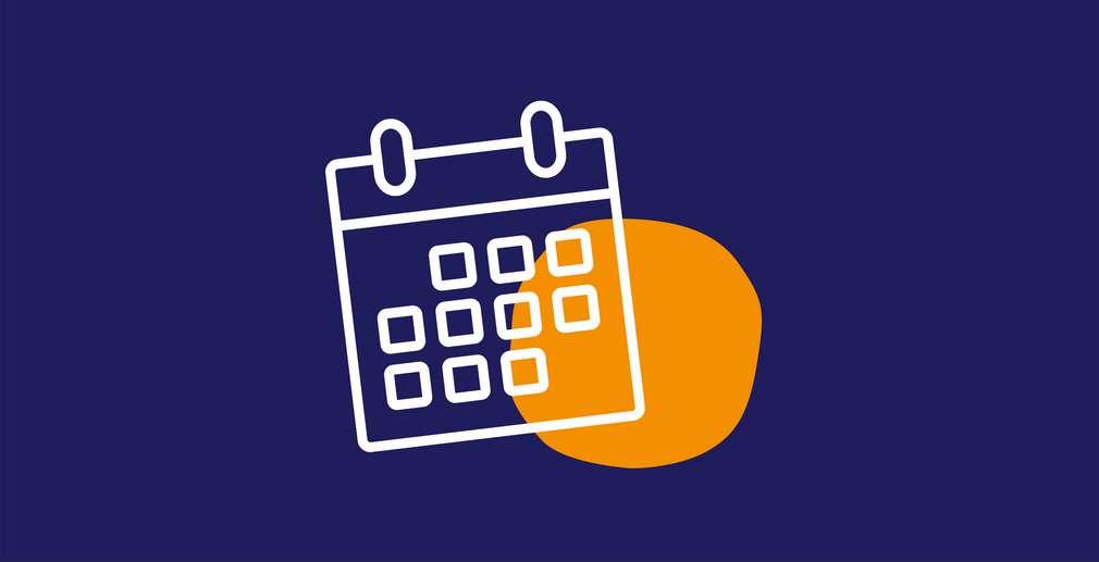 Illustration Kalenderblatt
