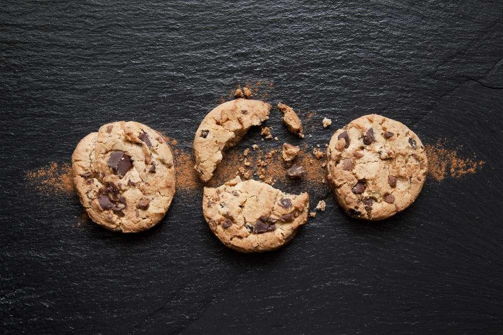 Der Teig macht die Cookies