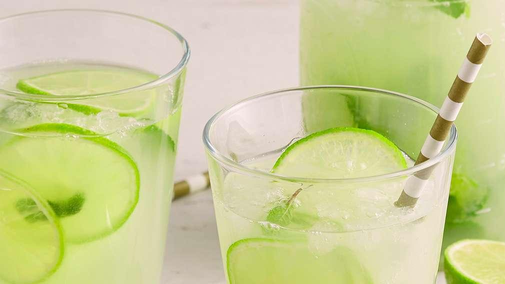 Rezepte: Limonaden und Eistees