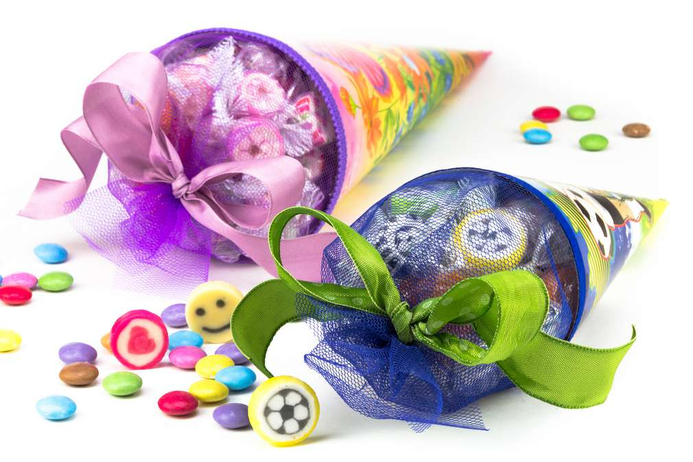 Welche Süßigkeiten kommen in die Schultüte?