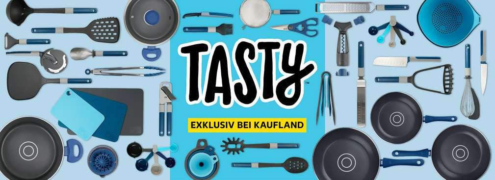 Tasty – exklusiv bei Kaufland; Störer: Jetzt neu