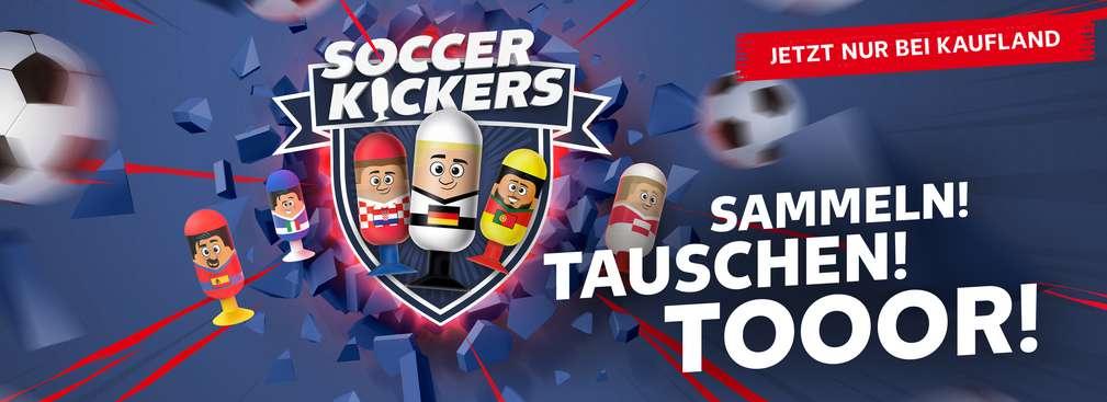 Soccer Kickers; SAMMELN! TAUSCHEN! TOOOR! JETZT NUR BEI KAUFLAND