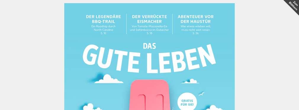"""Titelblatt """"Das gute Leben"""""""