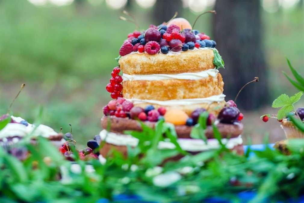 Naked Cake - Hüllenloses Gebäck