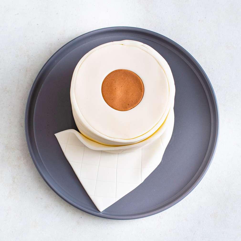 Abbildung des Rezepts Toilettenpapier-Motivtorte