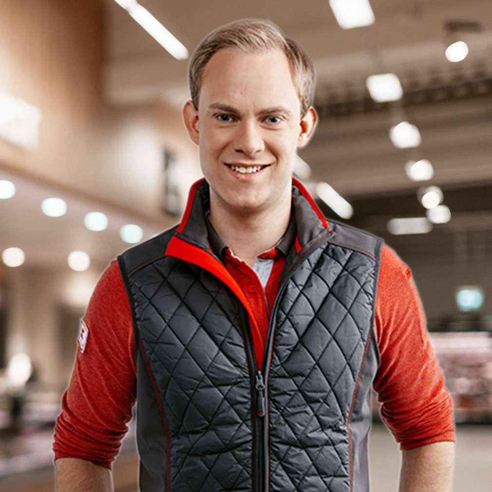 Alexander erzählt von seiner Ausbildung bei Kaufland