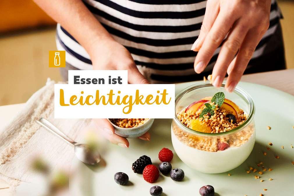Essen ist Leichtigkeit: Zubereitung von Joghurt