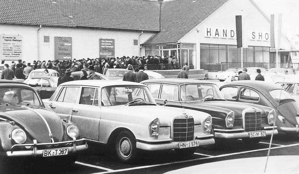 Eröffnung Backnang 1968