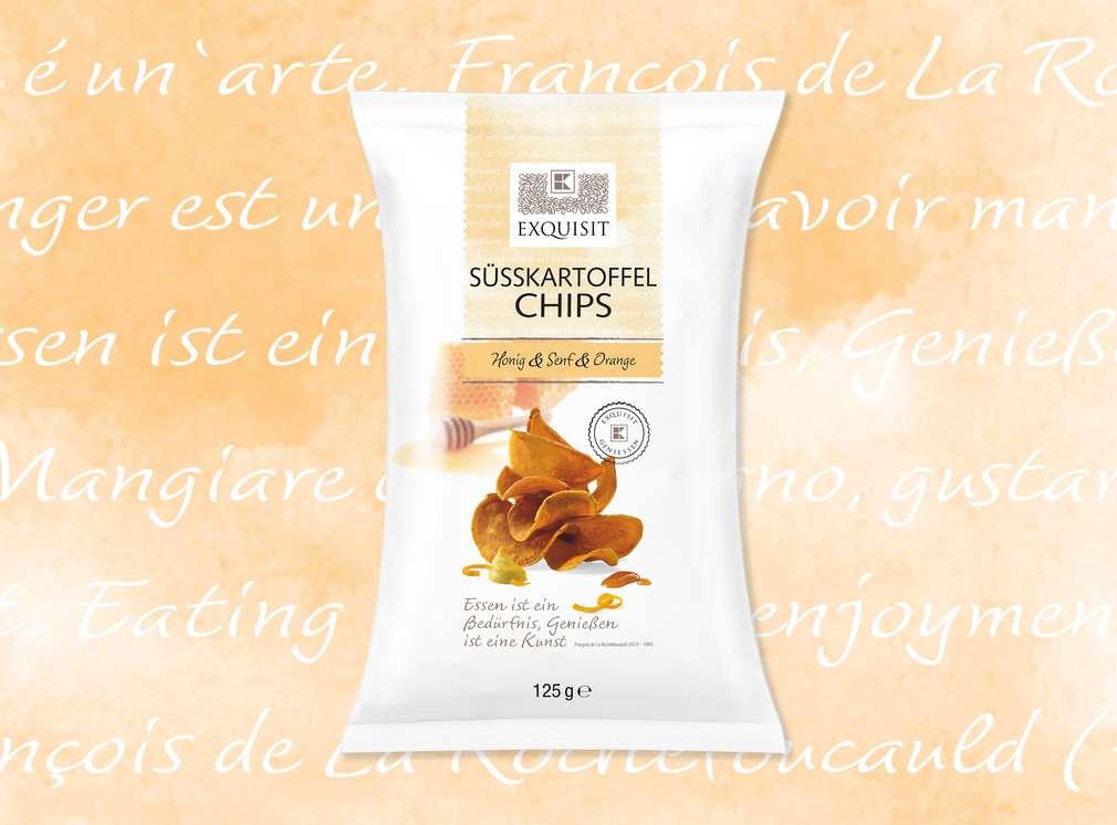 Süßkartoffel Chips von EXQUISIT