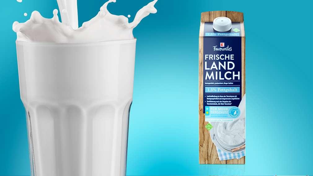 Frischmilch mit zertifiziertem Tierschutzlabel