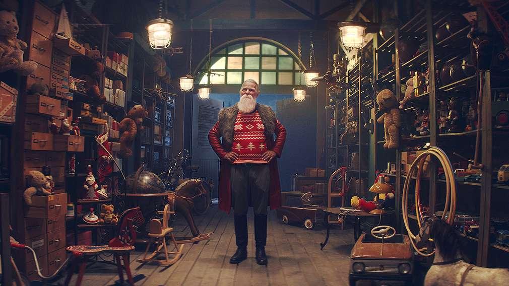 Kaufland ist der offizielle Ausstatter des Weihnachtsmannes