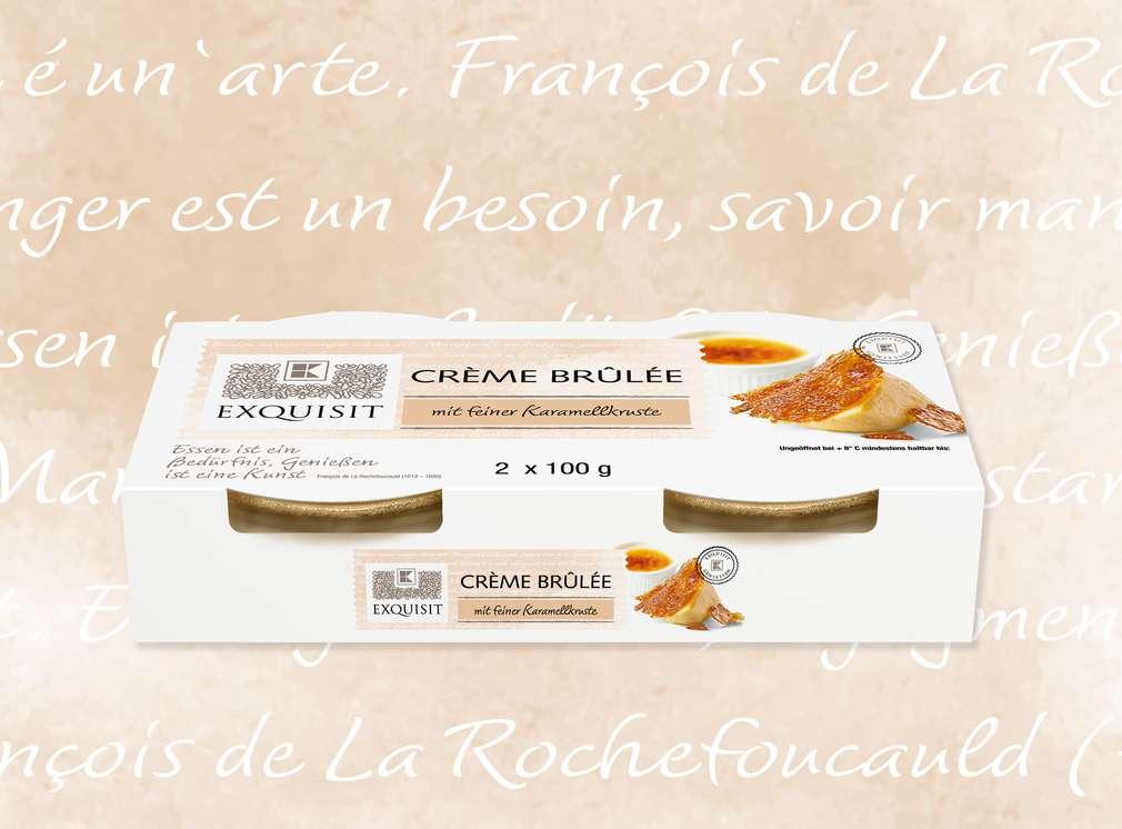 Crème Brûlée von EXQUISIT