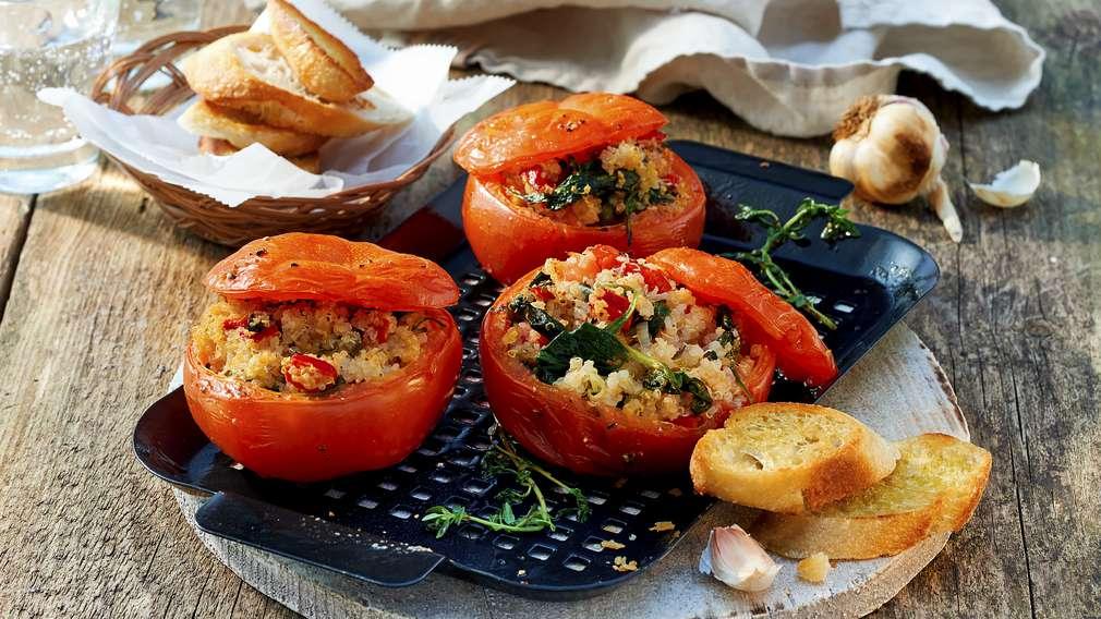 Rezept: Quinoa-Tomaten