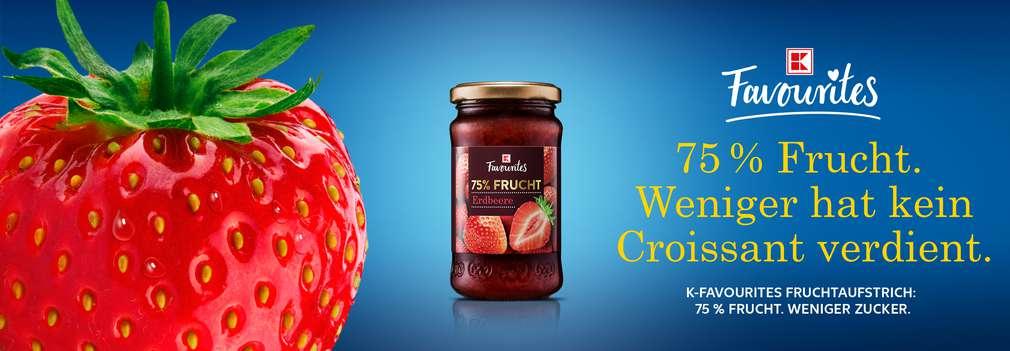 K-Favourites Fruchtaufstrich Erdbeere