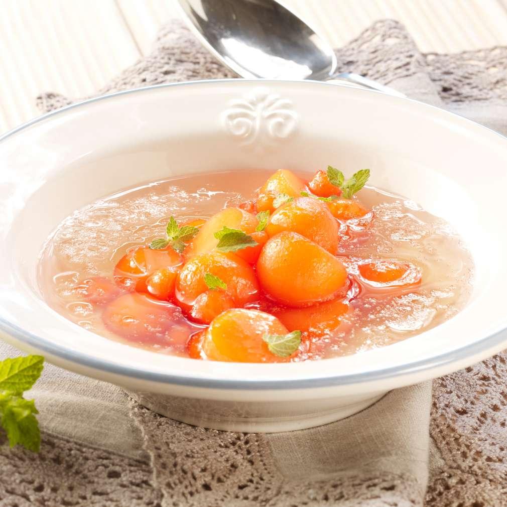 Abbildung des Rezepts Melonen-Kaltschale