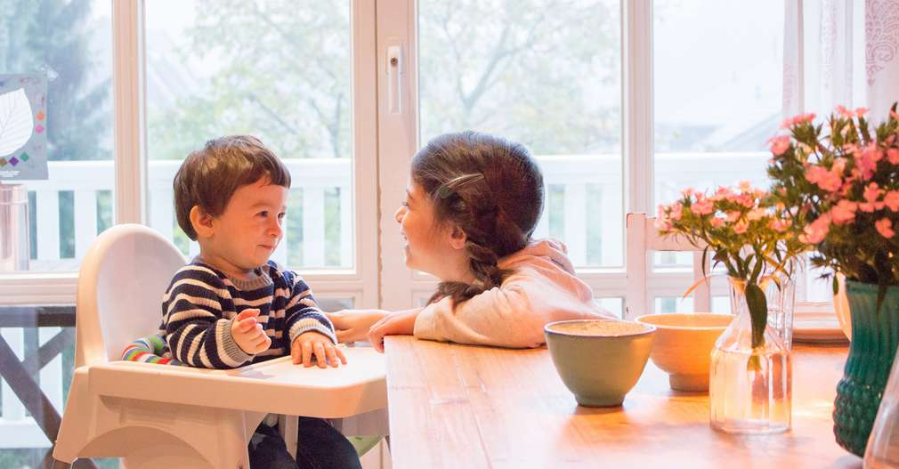 Kinder Tisch essen