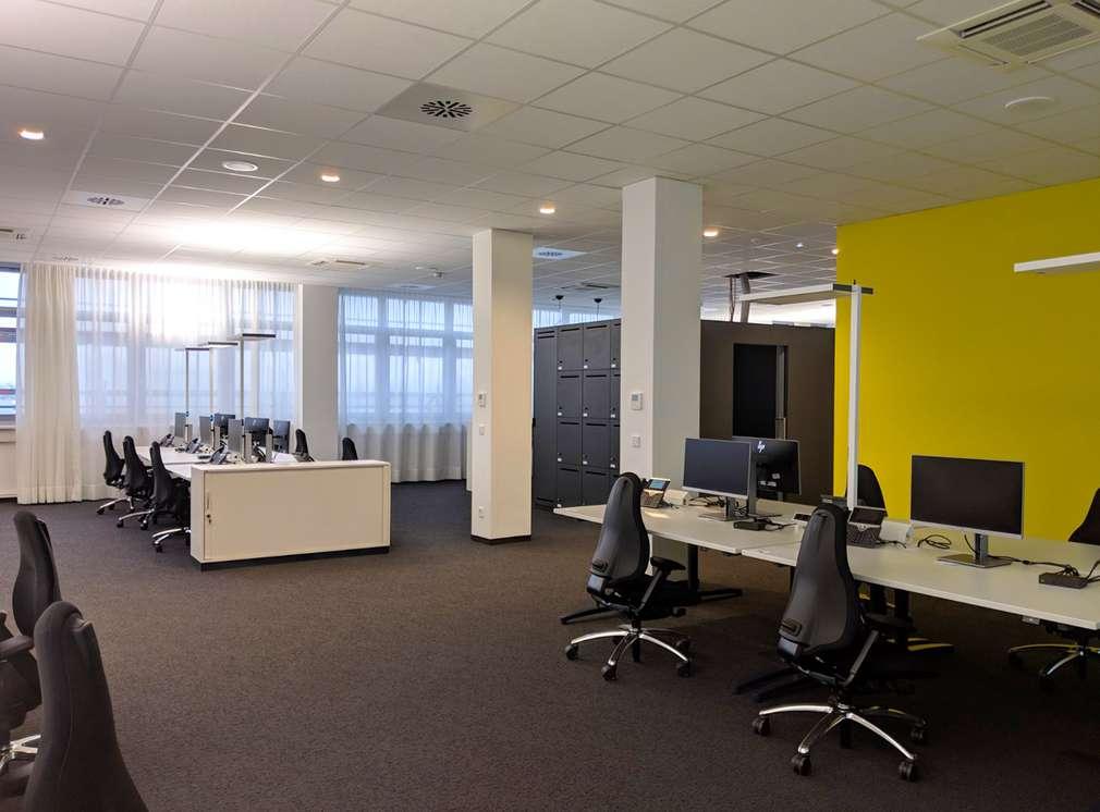 Innenansicht Bürogebäude