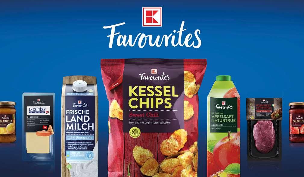 K-Favourites: Kauflands neue Eigenmarke
